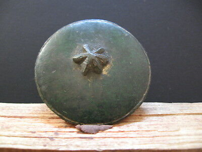 Large Solar Disc With Star Ancient Celtic Gilded Bronze Sun Talisman 500-300 Bc