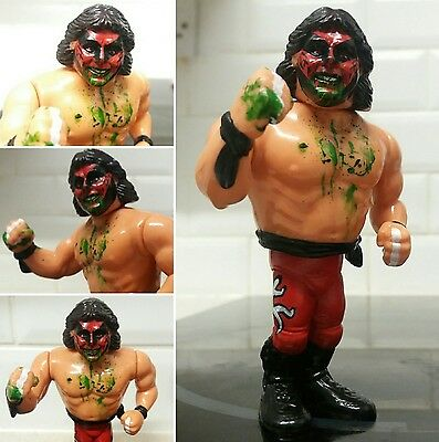 custom hasbro wrestler muta figure wwe wwf wcw njpw new japan