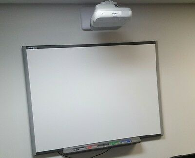 Epson EB-460 Ultra Short Throw Data Projector with SmartBoard