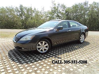 2007 Lexus ES 350 Carfax certified One Florida owner Mint condition 2007 Lexus ES 350 Carfax certified One Florida owner Mint condition