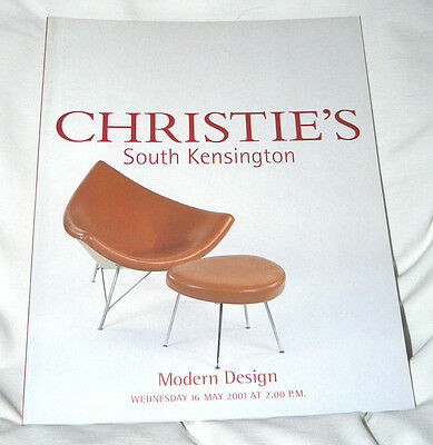 Christie's -South Kensington - Modern Design - 74 pgs. - May 2001 - EXCELLENT