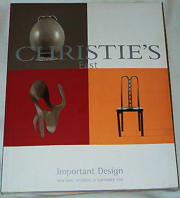 Christie's East - Important Design - New York, November 1999 - modern design