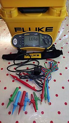 Fluke 1652 Multifunction Tester 17th Edition + remote probe