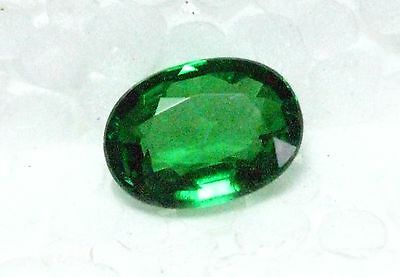 1.1  Carat Tsavorite Garnet - Top Green Color And Vvs / Eye Clean