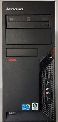 Lenovo M58 Computer Tower C2D@3.0Ghz, 2GB DDR3-Max 16GB,  160GB HDD,Tested