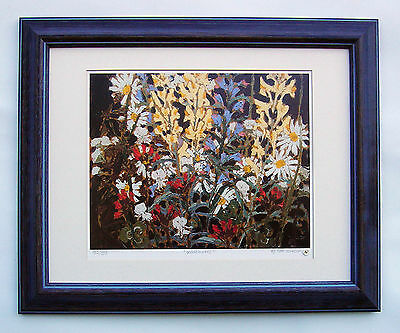 """Tom Thomson, Group of Seven """"Wildflowers"""" Limited Edition framed Print"""