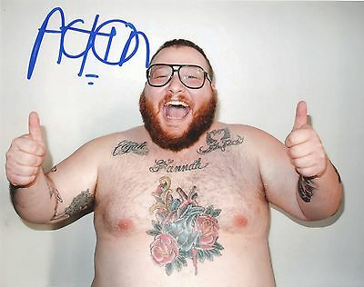 "Action Bronson (Mac Miller, Eminem) Signed Autographed 8x10"" Photo"