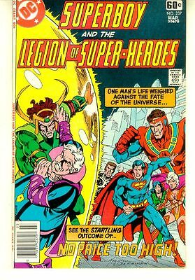 SUPERBOY and the LEGION of SUPER-HEROES #237 (DC Comics, 1978) NM!