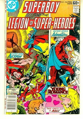 SUPERBOY and the LEGION of SUPER-HEROES #236 (DC Comics, 1978) NM!