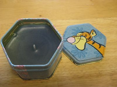Disney Winnie the Pooh Tigger Scented Candle In Collector Tin