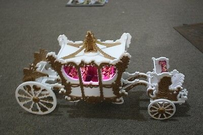 cinderella carriage,  Multi Award Winning Hand made one of a kind gold & white