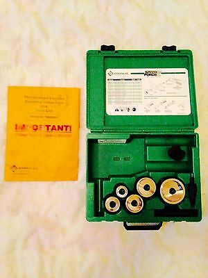 """Never used Greenlee Speed Punch 3/4""""-2"""" Knockout Kit Set 7905SBSP"""