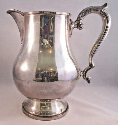 Fisher Early Georgian Sterling Silver Pitcher 28 oz MINT
