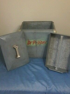 Vintage Dr Pepper Cooler - Late 1940's / Early 1950 Era - Rare