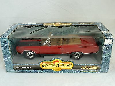 1997 American Muscle 1969 PLYMOUTH GTX CONVERTIBLE 1/18 Die-Cast #7248