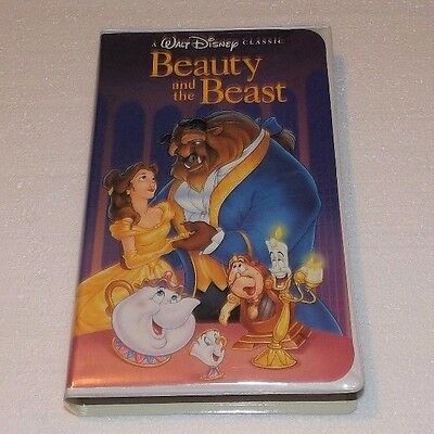 Beauty and the Beast (VHS, 1992) Walt Disney Black Diamond Classic stock #1325
