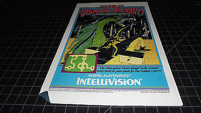 1983 Advanced Dungeons Dragons  PRINT AD  INTELLIVISION  RARE VINTAGE