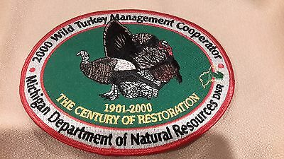 2000  Michigan State DNR Dept of Natural Resources Turkey Management Cooperator