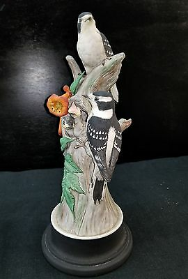 Limited edition Boehm Bird  427 Downy Woodpeckers