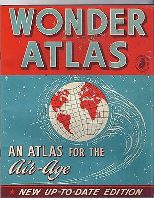 Wonder Atlas for the Air Age - Literary Press, London, 1959