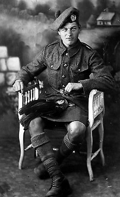 WW1 WWI BEF British soldier London Scottish