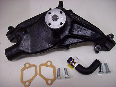 1958 1959 60 61 62 63 64 65 348 409 Chevy Tri Power Rebuilt Water Pump Like Nos