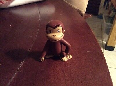 Curious George Figure Cake Topper Monkey 2.5""