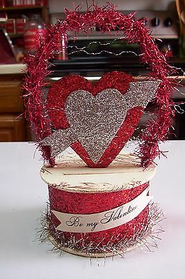 2007 Bethany Lowe by Dee Foust Valentine's Day Be My Valentine Candy Container