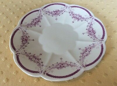 Antique The FOLEY CHINA England  Sandwich Plate Or Serving Plate Rare Find