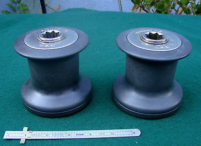 PAIR Barient No 10 HD SAILBOAT WINCHES-12 Photos Inside/Out-STOUT BEAUTIES-L@@K!