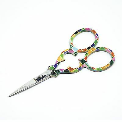 """Quality Stainless Steel Embroidery Scissors Straight 90mm - 3.5"""" inch - ESS-07"""
