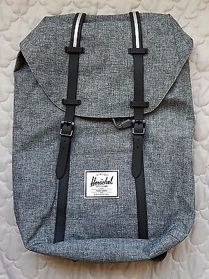 The Herschel Supply Co Brand Gray Laptop Backpack Pre-owned