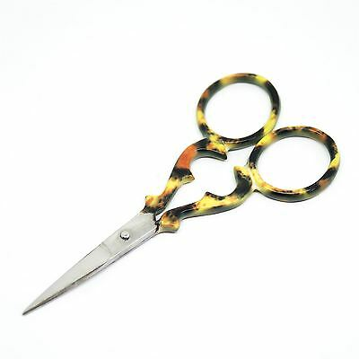 """Quality Stainless Steel Embroidery Scissors Straight 90mm - 3.5"""" inch - ESS-14"""