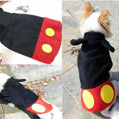 Pet Dog Cat Winter Casual Clothes Puppy Warm Hoodie Coat Jacket Costume Apparel