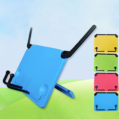 Foldable Desk Music Sheet Holder Adjustable Table Top Cook Book Reading Stand
