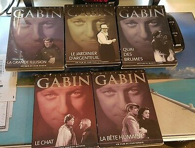Collection Gabin lot de 5 films en DVD