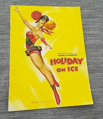 Programme spectacle HOLIDAY ON ICE 1964