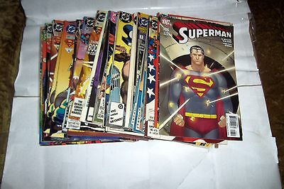 Superman Comic 35 Different Issues Including 3 Annuals C-List All Vg-Vf