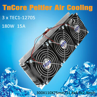 Semiconductor Refrigeration Kit Thermoelectric Peltier Air Cooling 180W 12705