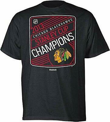 Reebok Chicago Blackhawks 2013 Stanley Cup Champions Linear Cup Roster T-shirt