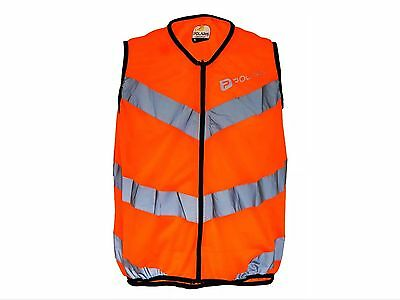 Polaris RBS Flash Cycling Commuter Vest Size XL, Fluo Orange RRP £16.99