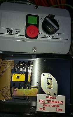 dol starter with isolator 415 v