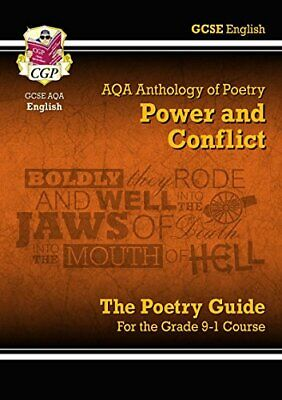 New GCSE English Literature AQA Poetry Guide: Power & Conflict A... by CGP Books