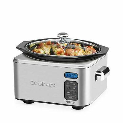 Cuisinart Slow Cooker 6.5L Programmable 6.5 Litre Free Shipping!
