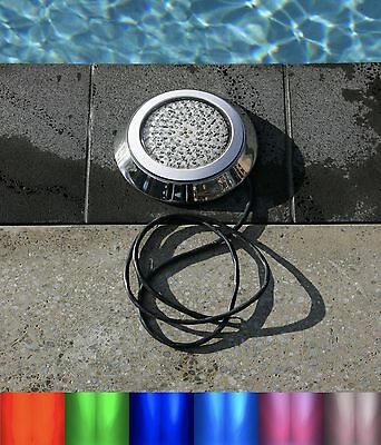 252 LED  color colour 316 grade stainless swimming pool light