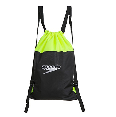Speedo Swimming Pool Bag - Black / Fluo Yellow