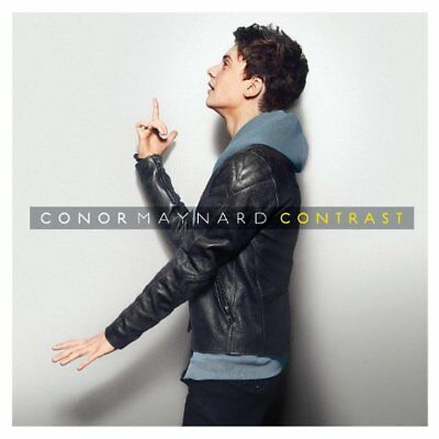 Conor Maynard - Contrast - Conor Maynard CD 72VG The Cheap Fast Free Post The