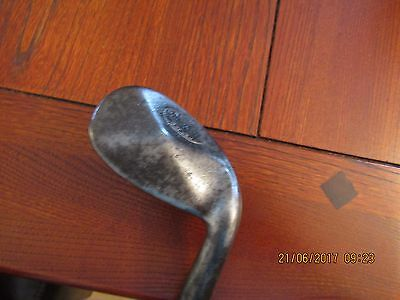 Diamond Back Anti Shank CH Gibson Hickory Vintage Golf Clubs
