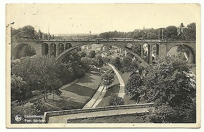 Cp  -  Luxembourg  -  Pont  Adolphe
