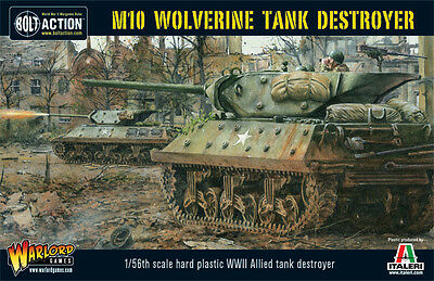 **bnib** Warlord Games Bolt Action Us M10 Wolverine Tank Destroyer